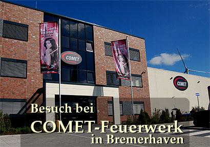 Comet Feuerwerk GmbH: Eröffnung des Vertriebszentrums in Bremerhaven