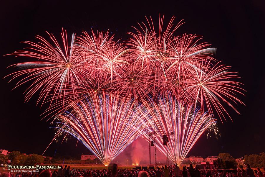 Feuerwerkersinfonie Potsdam 2018
