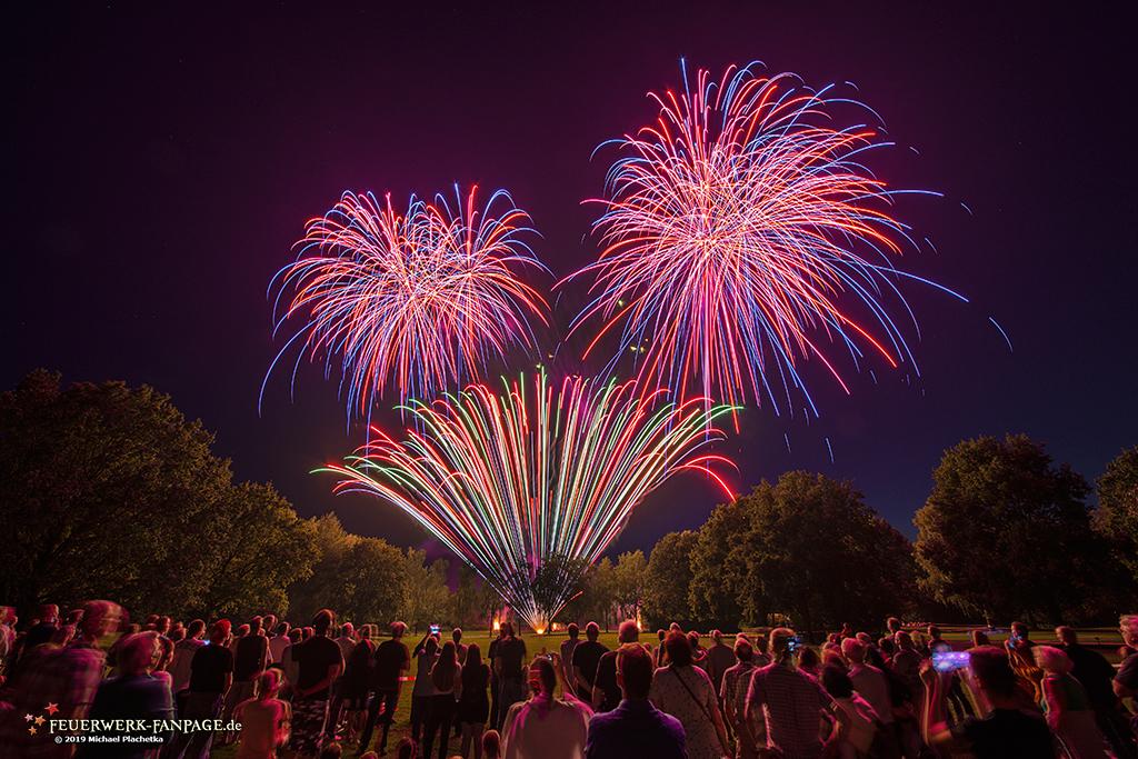 Heideblütenfest in Schneverdingen – Feuerwerk 2019