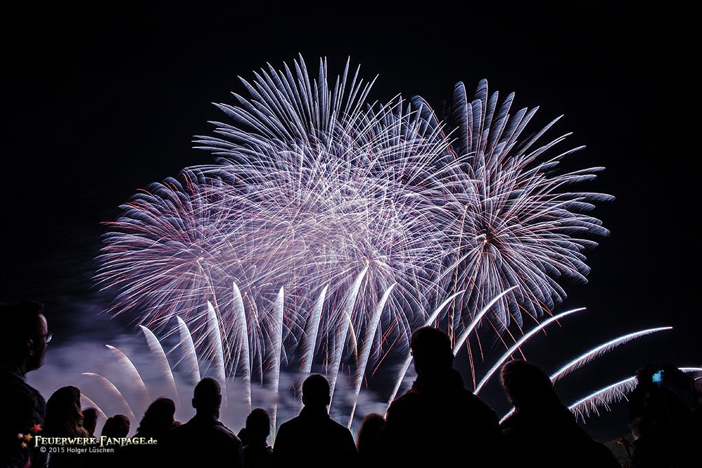 Feuerwerkswettbewerb Hannover 2015: Göteborgs FyrverkeriFabrik