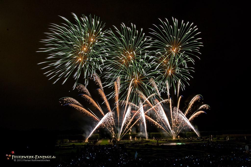 Feuerwerkswettbewerb in Hannover 2013: Südafrika, Fireworks for Africa