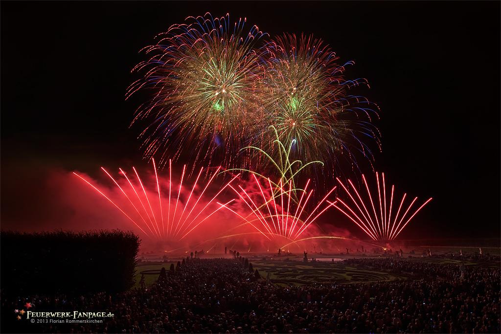 Feuerwerkswettbewerb in Hannover 2013: Italien, Pirotecnica Morsani