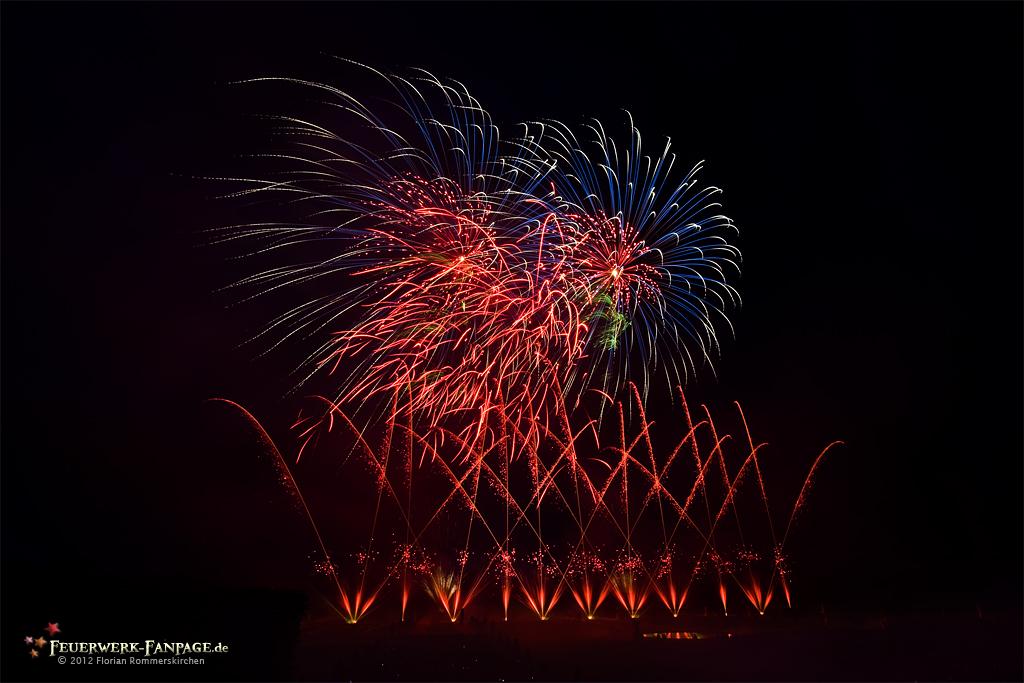 Feuerwerkswettbewerb in Hannover 2012: China, Panda Feuerwerk
