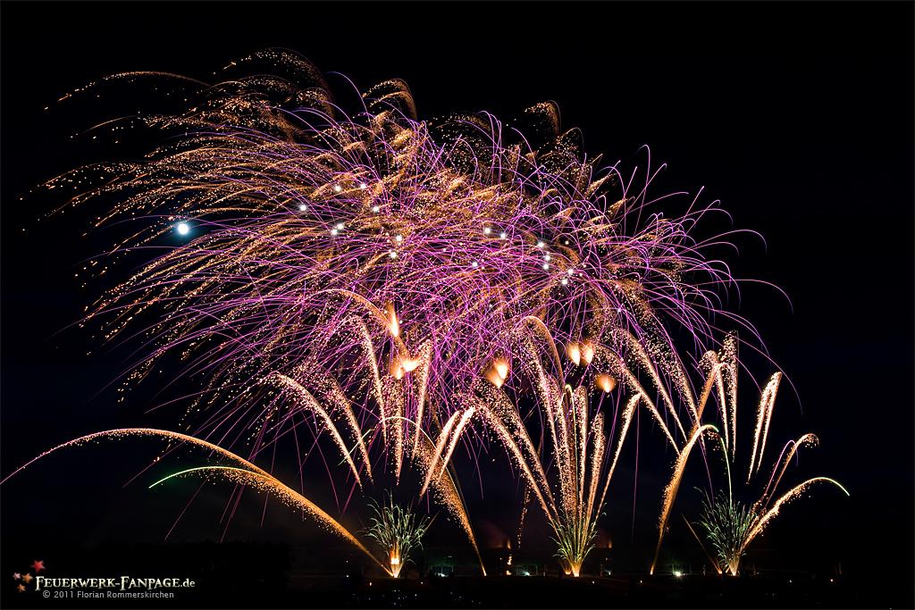 Feuerwerkswettbewerb in Hannover 2011: Schweden, Göteborgs FyrverkeriFabrik