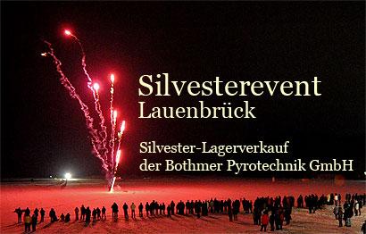 Silvesterevent Fest der Sinne 2009 in Lauenbrück