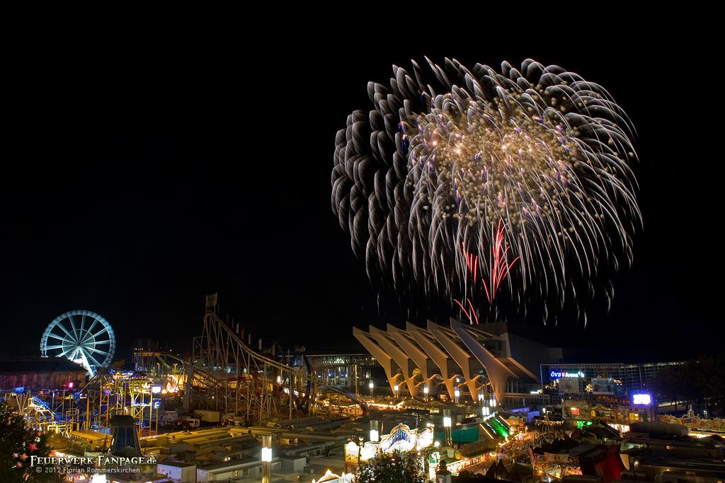 Feuerwerk zum Bremer Freimarkt