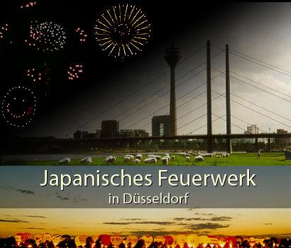 Japantag – Japanisches Feuerwerk in Düsseldorf