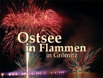 Read more about the article Ostsee in Flammen – Grömitz Seebrücke Feuerwerk