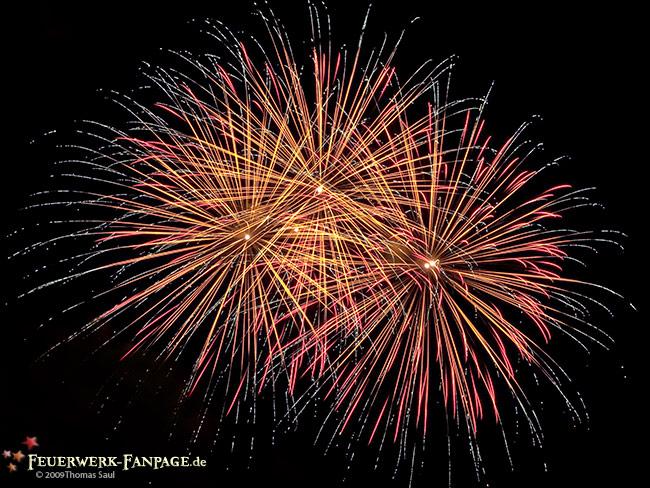 Feuerwerk zum Dresdener Stadtfest