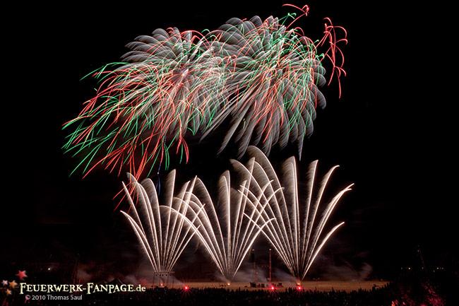 Feuerwerkersinfonie Potsdam 2010