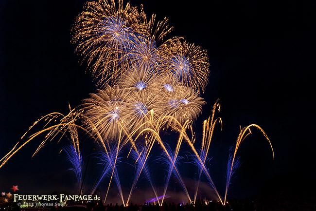 Hoffest von Pyro Partner/Potsdamer Feuerwerk 2011