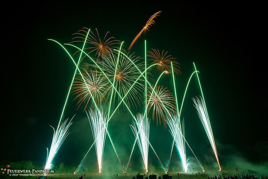 Hoffest von Pyro Partner/Potsdamer Feuerwerk 2015