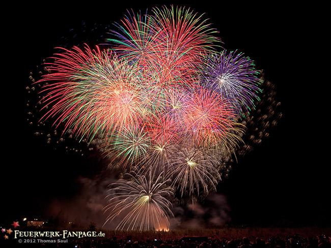 Hoffest von Pyro Partner/Potsdamer Feuerwerk 2012