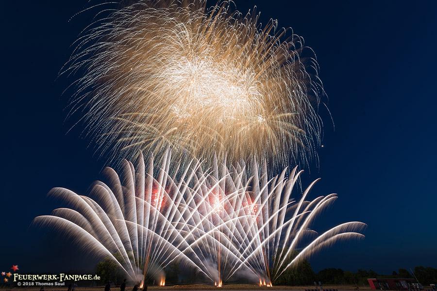 Feuerwerk zum Independence Day, US Botschaft Berlin