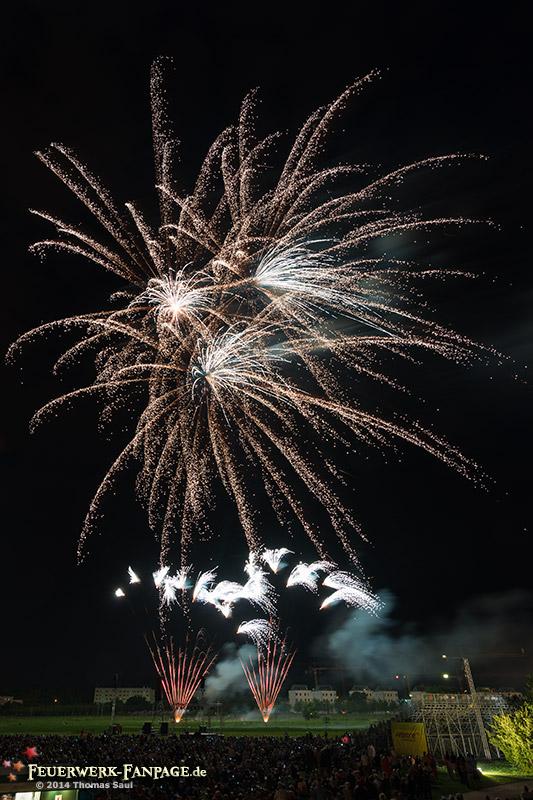 Feuerwerkersinfonie Potsdam 2014