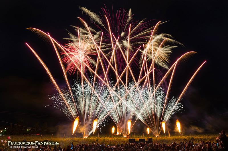 Hoffest von Pyro Partner/Potsdamer Feuerwerk 2013