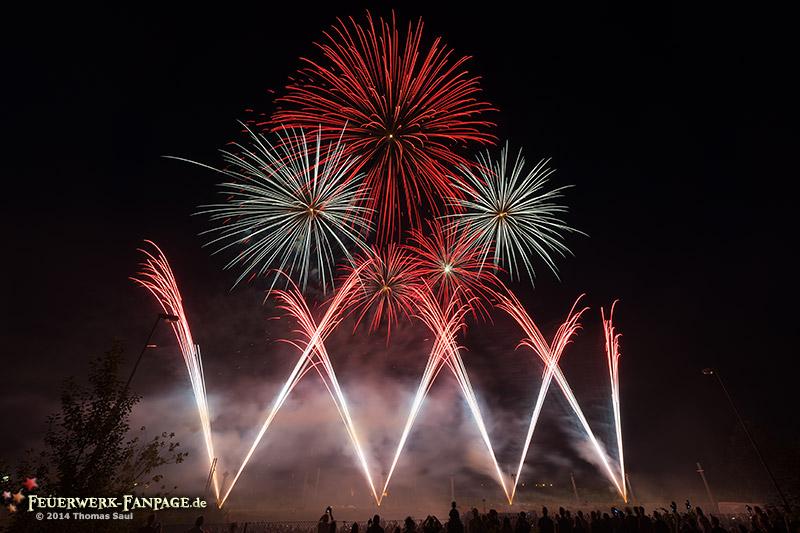Hoffest von Pyro Partner/Potsdamer Feuerwerk 2014