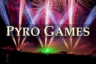 Pyro Games 2008 im Heidepark Soltau