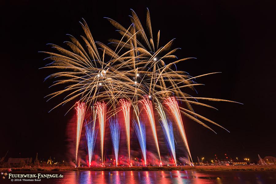 Pyromagic Feuerwerkfestival in Szczecin 2016(Stettin, Polen)