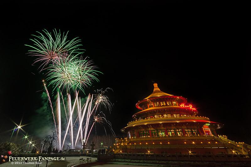 Chinesisches Neujahr an der Himmels Pagode in Hohen Neuendorf