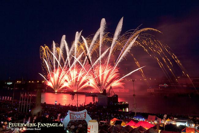 Pyromagic Feuerwerkfestival in Szczecin 2012(Stettin, Polen)