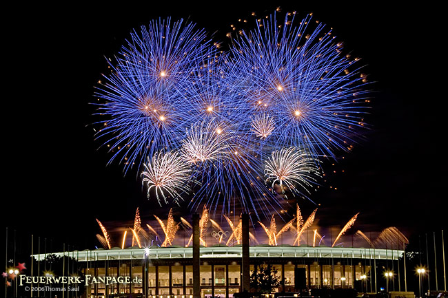 Pyronale 2006 auf dem Maifeld am Berliner Olympiastadion