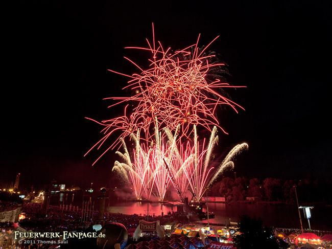 Pyromagic Feuerwerkfestival in Szczecin 2011(Stettin, Polen)