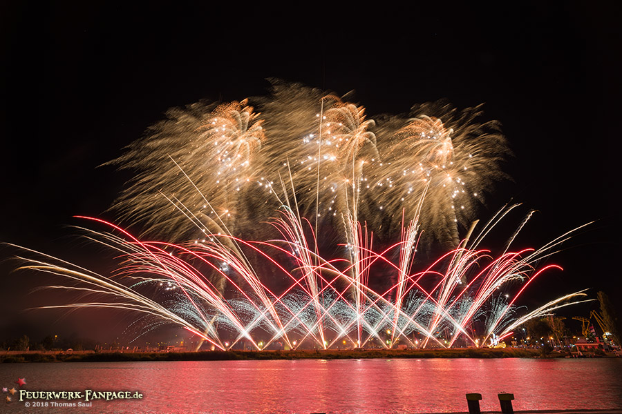 Pyromagic Feuerwerkfestival in Szczecin 2018(Stettin, Polen)