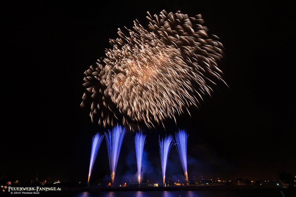 Pyromagic Feuerwerkfestival in Szczecin 2015(Stettin, Polen)