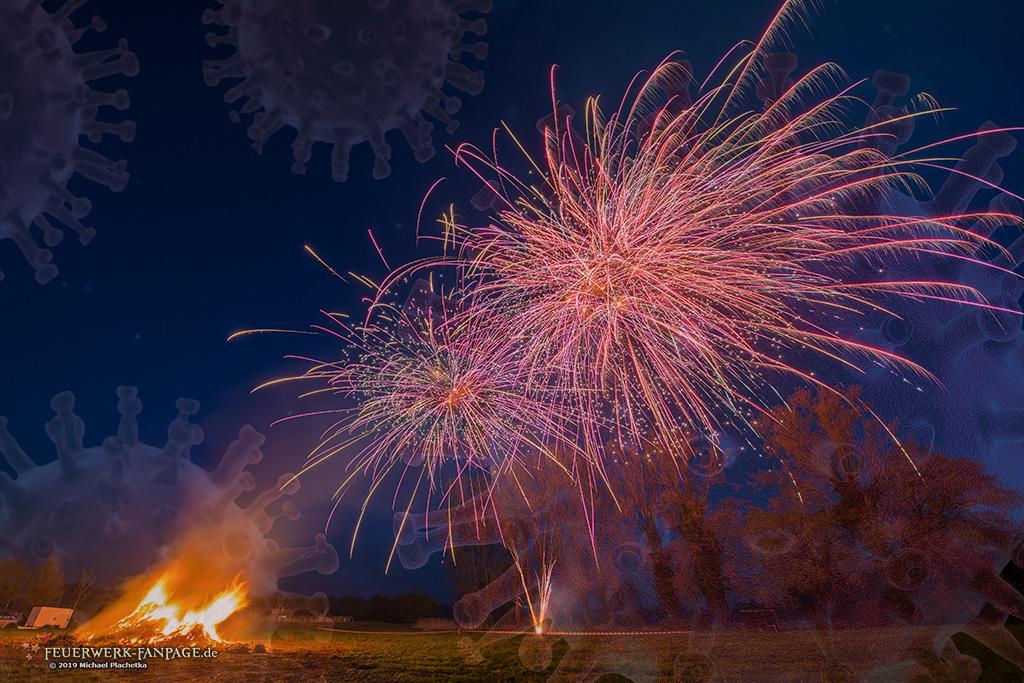 Corona-Pandemie (COVID-19) – Viele Veranstaltungen mit Feuerwerk werden abgesagt bzw. verschoben